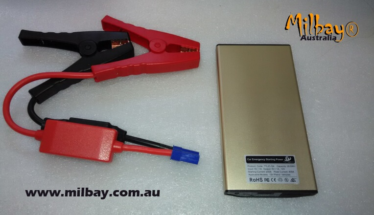 Auto Jump Starter and Power Banks 2016 Milbay MB-MFJS-LFP